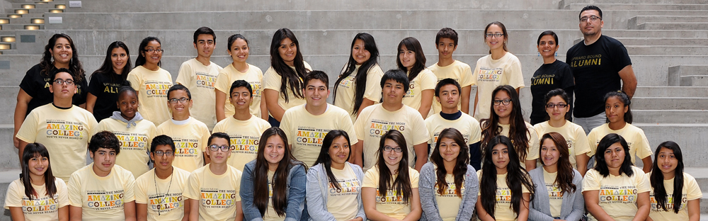upward bound participants